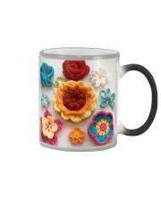Crochet and Knitting Flowers Color Changing Mug thumbnail