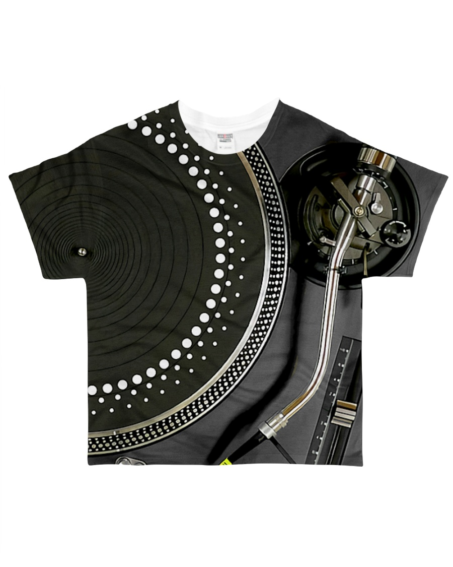 DJ Turntable All-over T-Shirt