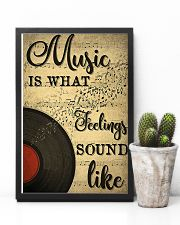 DJ Music is what feelings sound like 11x17 Poster lifestyle-poster-8