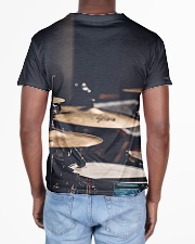 Drummer Art Drums All-over T-Shirt aos-all-over-T-shirt-lifestyle-back-02