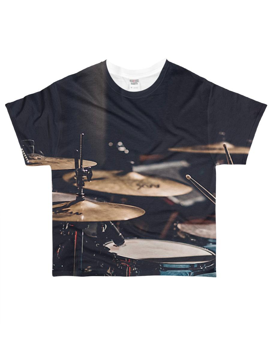 Drummer Art Drums All-over T-Shirt