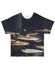 Drummer Art Drums All-over T-Shirt front