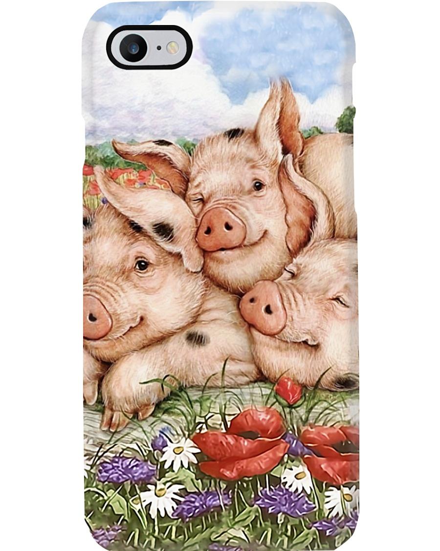 Farmer Cute Pig Phone Case
