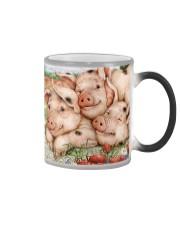 Farmer Cute Pig Color Changing Mug thumbnail