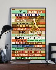 Good Day Hairdresser 11x17 Poster lifestyle-poster-2