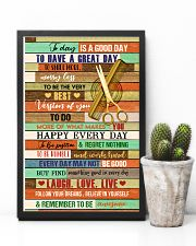 Good Day Hairdresser 11x17 Poster lifestyle-poster-8