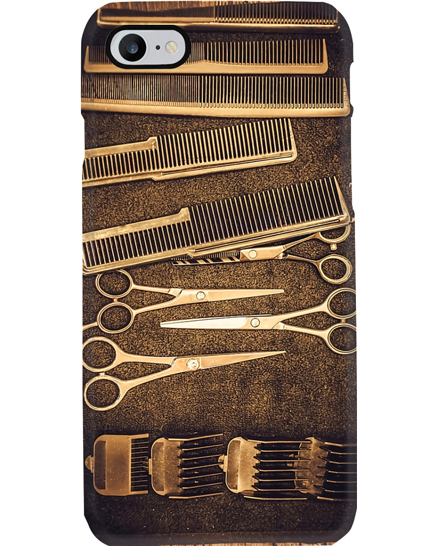 Hairdresser Vintage Tools Phone Case