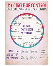 Social Worker My Circle Of Control 11x17 Poster front