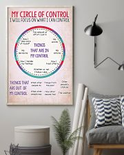 Social Worker My Circle Of Control 11x17 Poster lifestyle-poster-1