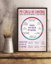 Social Worker My Circle Of Control 11x17 Poster lifestyle-poster-3