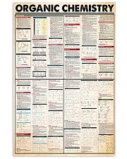 Chemist Organic Chemistry 11x17 Poster front
