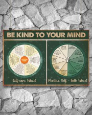 Social Worker Be Kind To Your Mind 17x11 Poster aos-poster-landscape-17x11-lifestyle-13