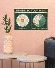 Social Worker Be Kind To Your Mind 17x11 Poster poster-landscape-17x11-lifestyle-21