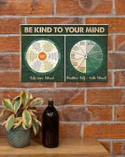 Social Worker Be Kind To Your Mind 17x11 Poster poster-landscape-17x11-lifestyle-23