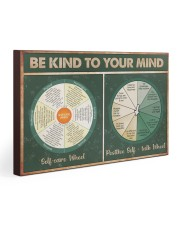Social Worker Be Kind To Your Mind 30x20 Gallery Wrapped Canvas Prints thumbnail