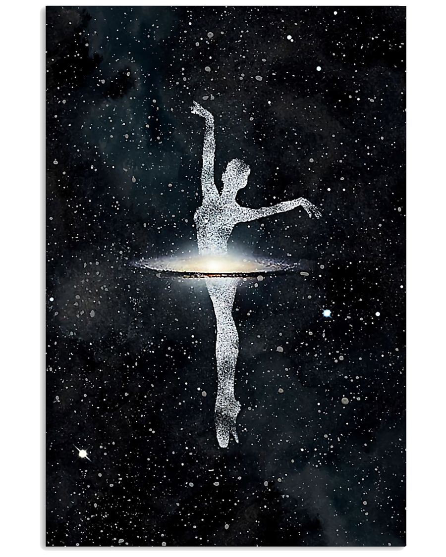 Ballet Dancer And Universe 11x17 Poster