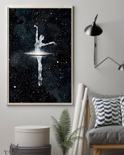 Ballet Dancer And Universe 11x17 Poster lifestyle-poster-1