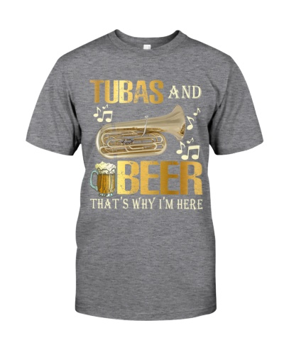 Tubist Tubas and Beer