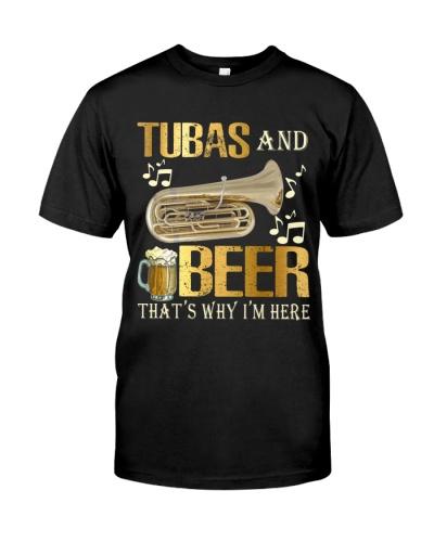 Tubist Tubas and Beer