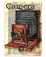Photographer Drawing Camera 11x17 Poster front