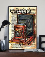 Photographer Drawing Camera 11x17 Poster lifestyle-poster-2