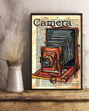 Photographer Drawing Camera 11x17 Poster lifestyle-poster-3