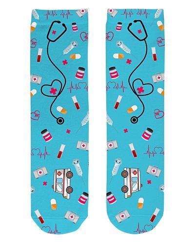 Nurse Icons sock