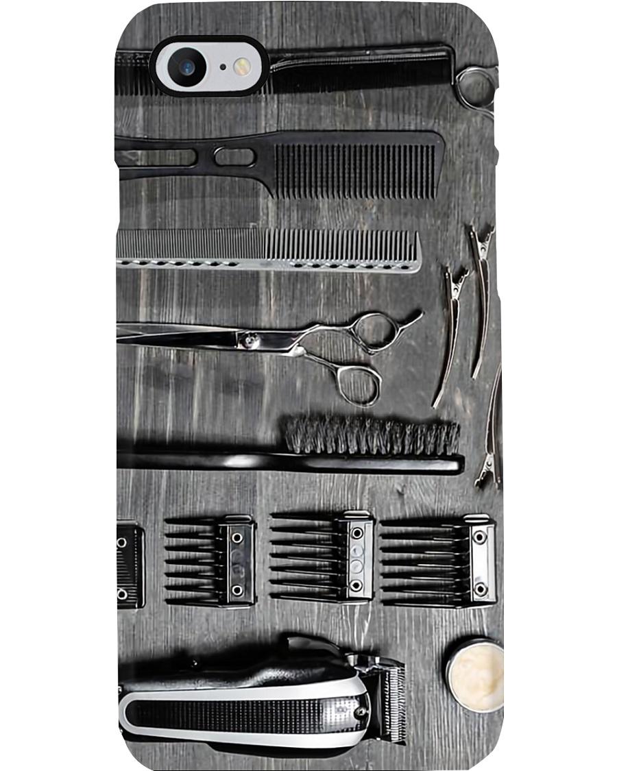 Barber Tools Hairdresser Phone Case