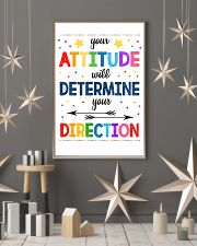 Teacher Attitude Determines Direction 11x17 Poster lifestyle-holiday-poster-1