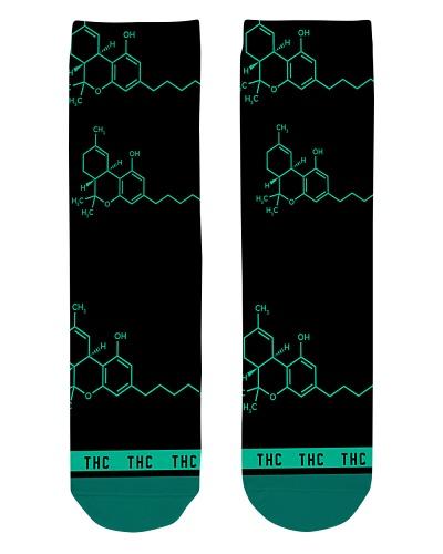Chemist Molecule Socks