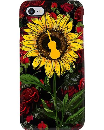 Violin In Sunflower