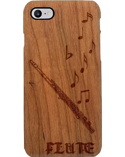 Flute On Wood