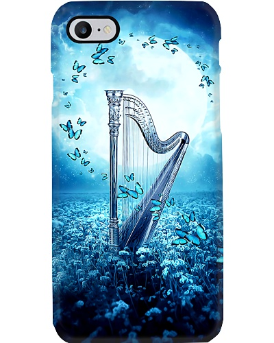 Beautiful Blue Harp Scene