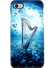 Beautiful Blue Harp Scene  Phone Case i-phone-7-case