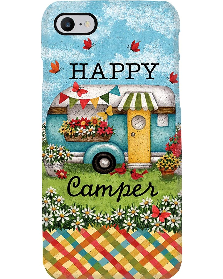 Camping Happy Camper Phone Case
