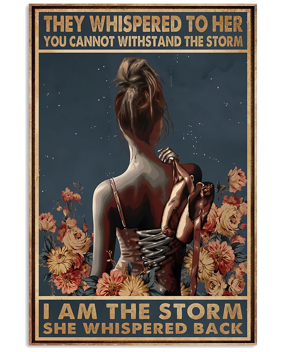 Ballet I A The Storm 11x17 Poster