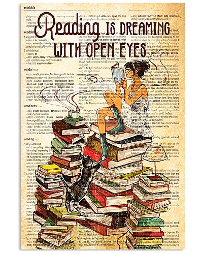 Book Reading Is Dreaming With Open Eyes
