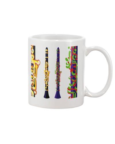 Clarinet Instrument Watercolor