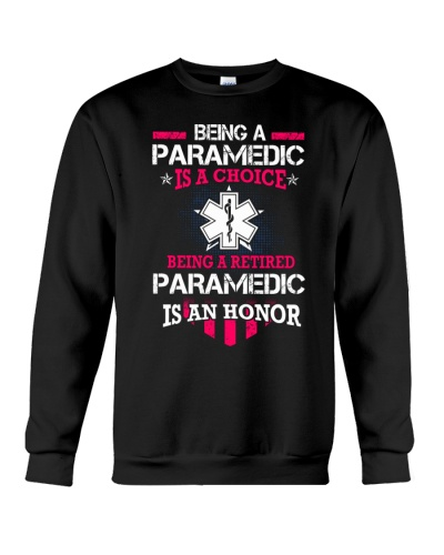 Being A Retired Paramedic Is An Honor