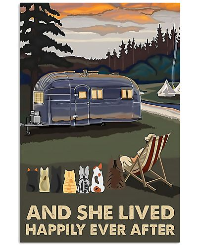 Camping She Lived Happily