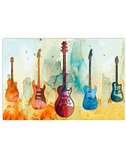 Guitar Art Real 17x11 Poster front