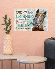 Horse Girl Every Day Is A New Beginning  17x11 Poster poster-landscape-17x11-lifestyle-21