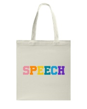 Speech Language Pathologist Gift Tote Bag thumbnail