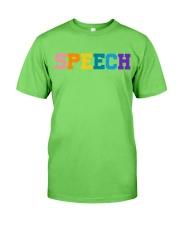 Speech Language Pathologist Gift Classic T-Shirt thumbnail