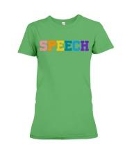 Speech Language Pathologist Gift Premium Fit Ladies Tee thumbnail