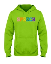 Speech Language Pathologist Gift Hooded Sweatshirt thumbnail