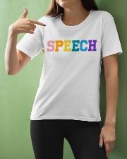 Speech Language Pathologist Gift Ladies T-Shirt apparel-ladies-t-shirt-lifestyle-front-10