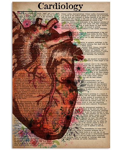 Cardiologist Text Watercolor