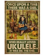 Girl Loved Ukulele 11x17 Poster front
