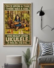 Girl Loved Ukulele 11x17 Poster lifestyle-poster-1